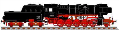Dampflok DB BR52